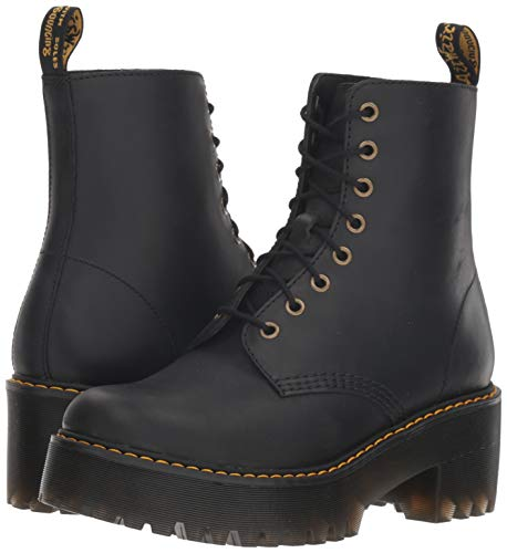 Black black Wyoming Shriver Bottines Femme 001 Martens Hi Dr 1xPSaw