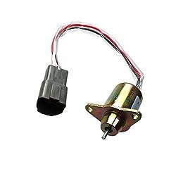 12V Fuel Shutoff Solenoid M810324 for John Deere 1