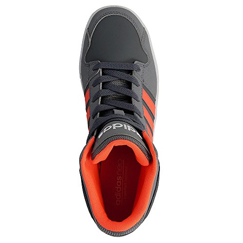 Adidas Bb9Tis Mid K, Scarpe da Basket Unisex – Bambini, Grigio (Onix/Narsol/Gris), 30 EU