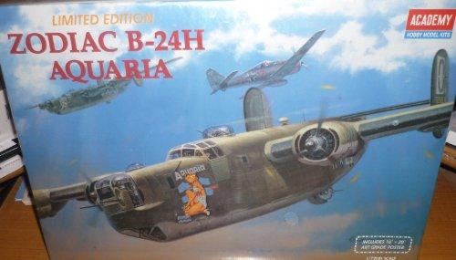 #2163 Academy/Minicraft Zodiac B-24H Aquaria 1/72 Scale P...