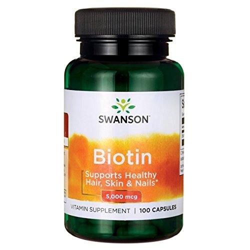Swanson Biotin 5Vitamin 000 mcg 100 Capsules