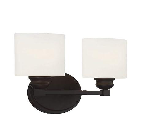 sale retailer ffb45 b3887 Savoy House 8-890-2-13 Kane 2-Light Vanity Bar in English Bronze