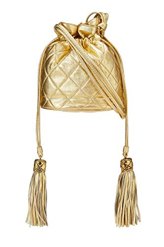 Chanel Gold Handbag - 5