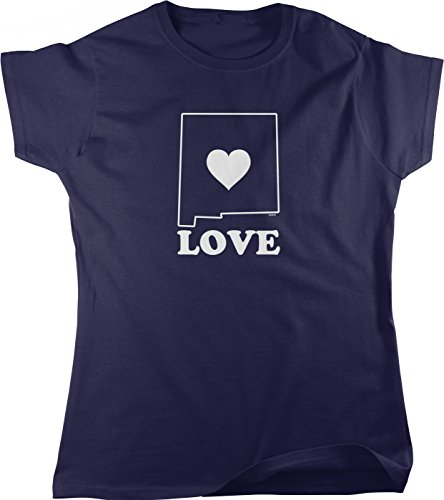 Love New Mexico Women's T-shirt, NOFO Clothing Co. L - Uptown Albuquerque