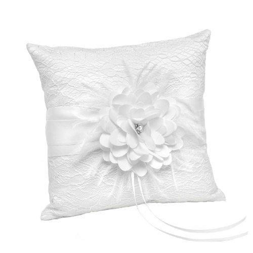 - Hortense B. Hewitt Layers of Lace Ring Pillow