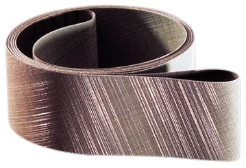 3M Trizact Cloth Belt 307EA, Aluminum Oxide , Wet, 3'' Width x 132'' Length, A80 Grit (Pack of 50) by 3M