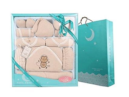 XDEAS - Caja de Regalo para recién Nacido, diseño de Mono de otoño e ...
