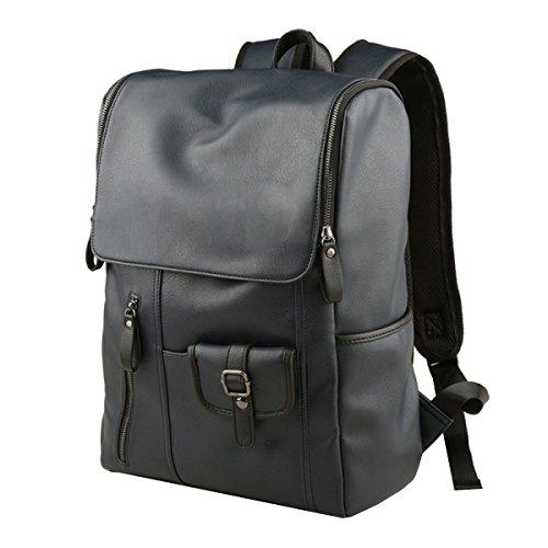 Shoulder Blue Men Computer Backpack Multi Bag purpose Business Leisure Travel rryWRcOA