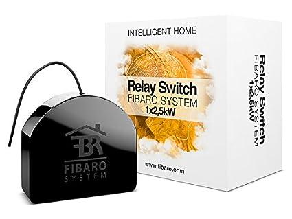 fibaro fibaro relay switch black amazon in amazon in rh amazon in Electrical Relay Switch Relay Switch Symbol