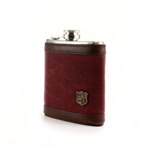 british belt flask - 1