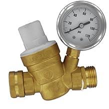 Valterra A01-1117VP Brass Lead-Free Adjustable Water Regulator