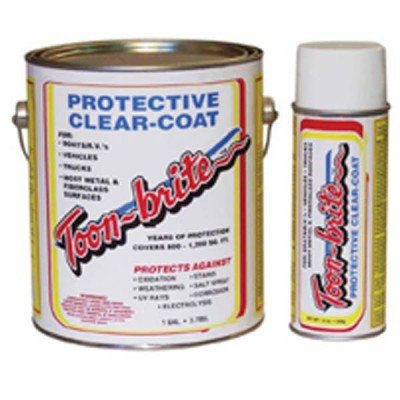AMRT-B-PA1000 * Toon-Brite Protective Clear Coat For Boats - 12 oz can