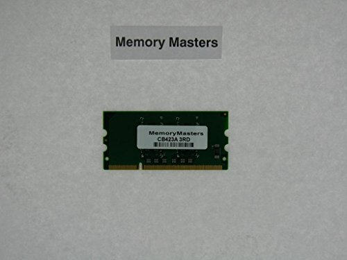 CB423A 256MB DDR2 144-pin DIMM Printer Memory for HP LaserJet P2015 P2015d (MemoryMasters) ()