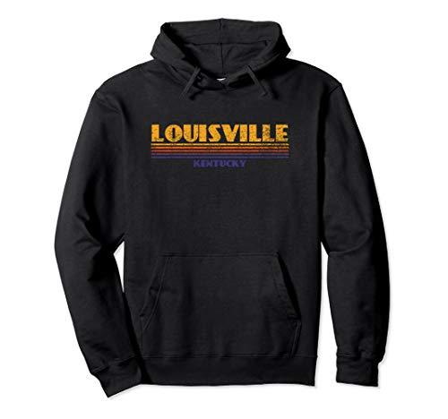 Classic Retro Vintage Louisville Kentucky City Hoodie