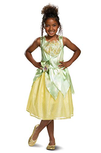 Tiana Classic Disney Princess Girls Costume Green]()