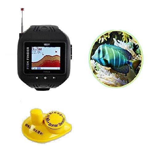 HITSAN Wrist Watch Type Fish Finder Color Screen Wireless Lattice Fish Finder One Piece