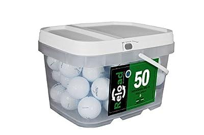 Titleist Reload Recycled Golf Balls Pro V1 (Certified Refurbished )Golf Balls (50 Pack)