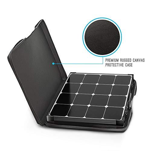 Renogy 100 Watt Eclipse Monocrystalline Charge 20A Voyager Waterproof Controller Solar Suitcase, 100W-Waterproof by Renogy (Image #3)