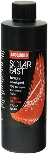 Jacquard Products JSD-2102 Jacquard SolarFast Dyes 8oz, Burnt Orange