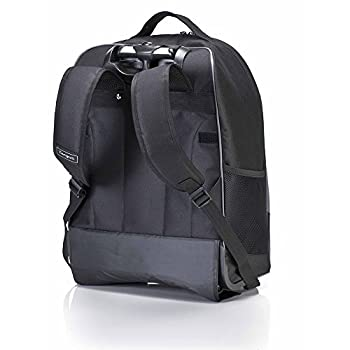 Targus Compact Rolling Backpack For 16-inch Laptops, Black (Tsb750us) 1