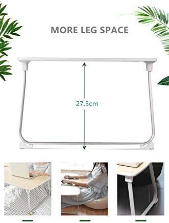Table de balcon Table de camping Table Table de jardin pliante d/'appoint Betttisch Table à manger Nouveau