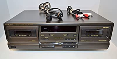Technics RS-TR270 Dual Cassette Deck Player Recorder from Technics