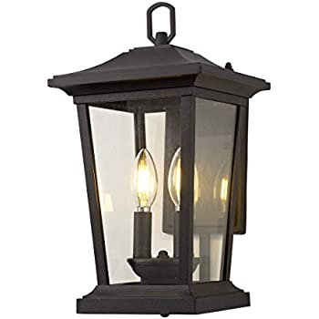 Feiss Ol5701bk Woodside Hills Outdoor Patio Lighting Wall