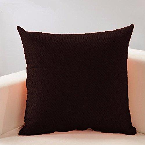 FabHomeDecor Designer Supersoft Microfibre Cushion – 16″ x 16, Maroon