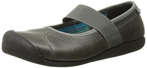 Keen Leather Mary Janes (KEEN Women's Sienna MJ Leather Shoe, Gargoyle Pebbled, 5 M US)