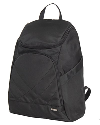 Travelon Anti Theft Classic Backpack (BLACK W/DARK SAND LINING)