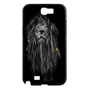 Rasta Lion Samsung Galaxy Note 2 Case, [Black]