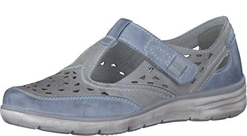 Jana 8-8-24700-28/204 - Mocasines de Piel para mujer gris gris gris