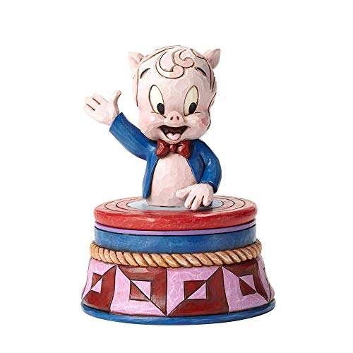 Jim Shore Looney Tunes Porky Pig Treasure Box 4053085 New