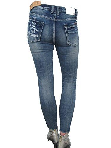 Skinny Wiya Grazer Italy Donna Aderenti Frutta Fascini Jeans Caviglia SSxHRqg