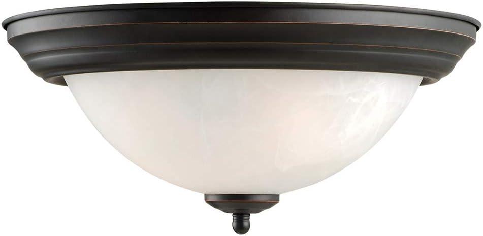 Design House 514489 Millbridge 2 Light Ceiling Light, Oil Rubbed Bronze