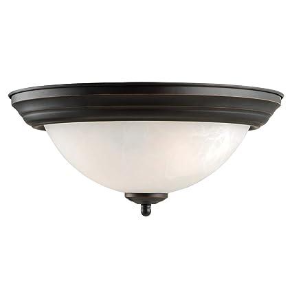 Amazon.com: Design House 511550 Millbridge 2 luz de techo de ...