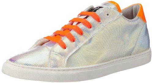 P1 200 bpm, Sneaker donna Argento (Silber (Pearl Metallic))