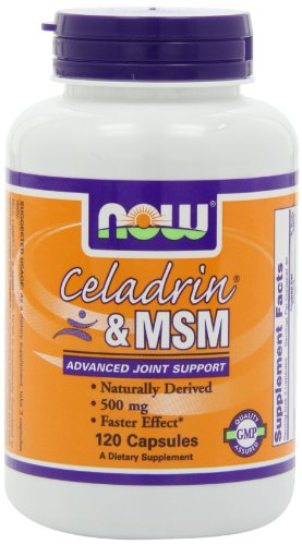 NOW Foods Celadrin et Msm, 120 Capsules / 500mg