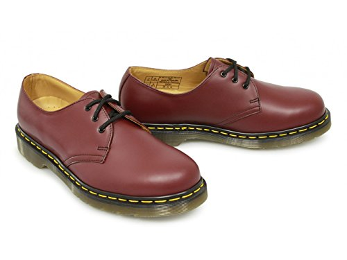 Dr Martens 1461 Smooth Chaussures (Rouge cerise)