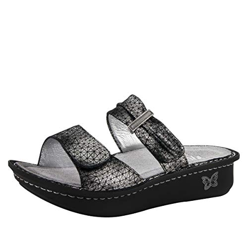 Alegria Women's Karmen Pewter Way Sandal Size 37