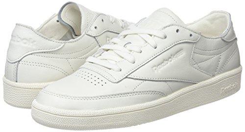Reebok chalk Sneakers 85 Basses Club Blanc Dcn C Femme 7Aqx14w7U