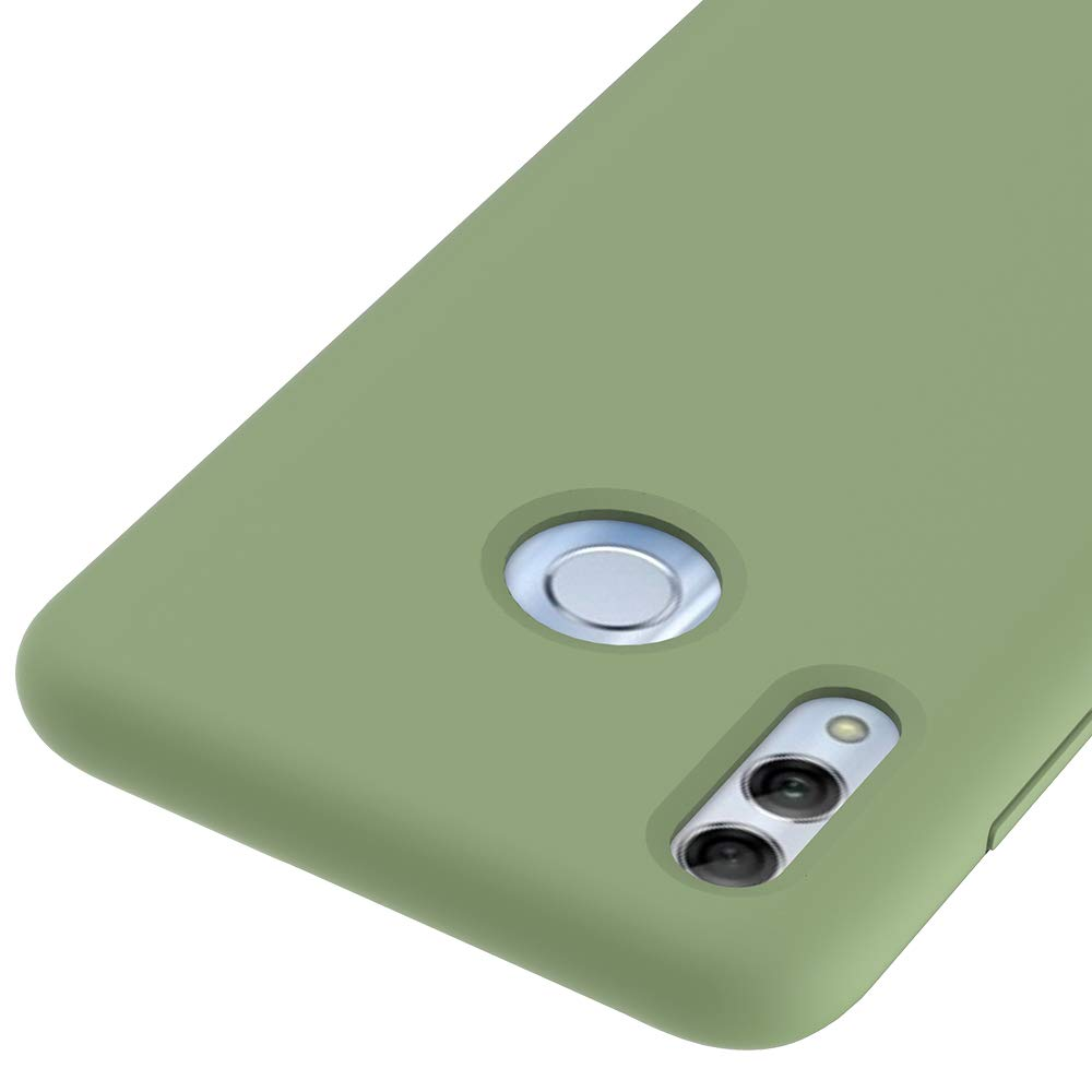 CoverTpu Funda Huawei P20 Lite Silicona Rosa Funda L/íquido de Silicona Gel TPU Flexible Carcasa para Huawei P20 Lite Anti-Rasgu/ño y Resistente Protectora Tapa Caso Case Rosa