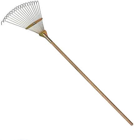 Hierro rastra Agrícola herramientas de jardín Artículos para el hogar hoja rastrillo de jardín hierba para los agricultores de hierro 18 dientes del rastrillo grada de acero agrícola (3 unidades): Amazon.es: Hogar