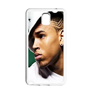 Custom Chris Brown Hard Back Cover Case for Samsung Galaxy Note 3 NE255 by runtopwell