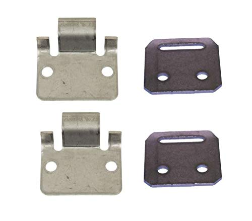 3G Seat Hinge Plate Set for Club Car DS Golf Carts 1981-1993