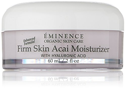 Eminence Organic Skincare Firm Skin Acai Moisturizer with Hyaluronic Acid, 2 Fluid...