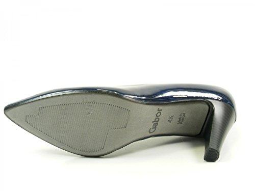 Gabor Shoes Fashion, Zapatos de Tacón para Mujer Grau