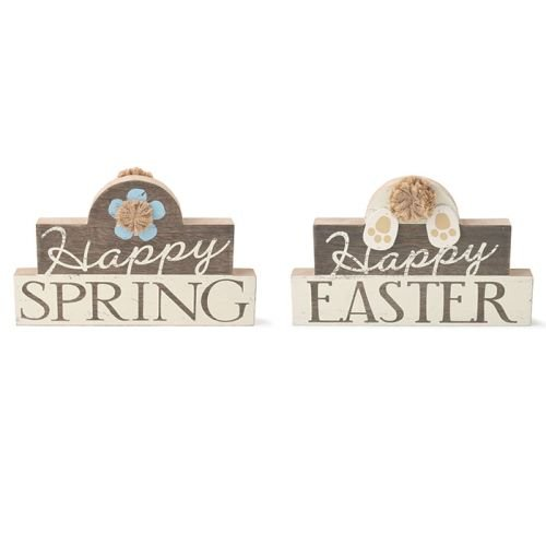 Burton & Burton Reversible Easter with Spring Wood ()
