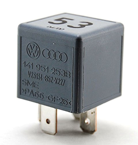 VW Audi Porsche Multi Purpose Relay 141-951-253B(Pack of 2) - Vac Relay
