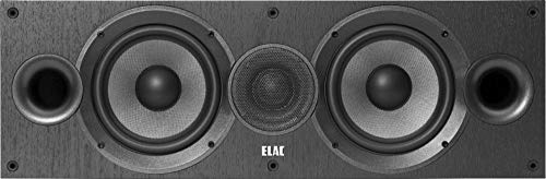 ELAC Debut 2.0 C6.2 Center Speaker, Black by Elac (Image #1)